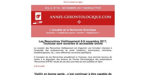 les rencontres newsletter